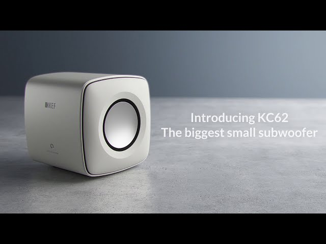 KEF KC62 - The Biggest Small Subwoofer
