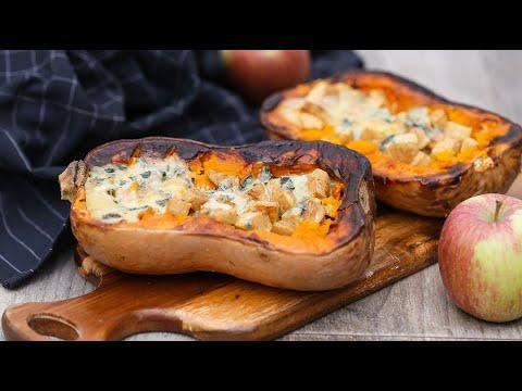 les-instants-recettes-n°29-:-courge-butternut-farcie-au-bleu-et-à-la-pomme