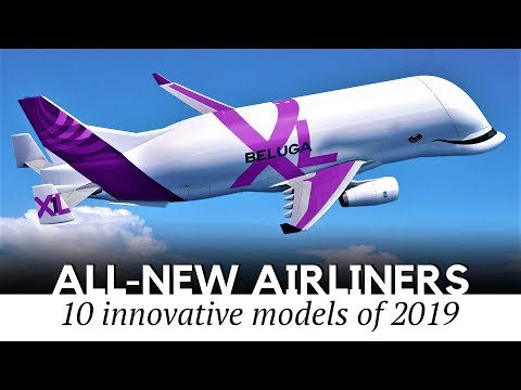 10 New Airliners and Large Jet Aircraft to Fly the Skies of Tomorrow