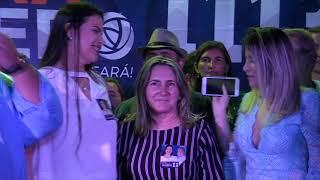 Bia e Jane Martins, prestigiaram Macedão, apresentando Poliana Macedo como a sua candidata a deputada