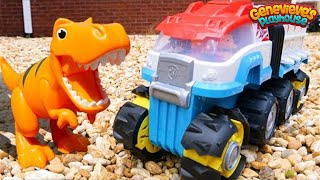 Paw Patrol Learning Video for Kids - Learn Dinosaur Names and Meet Rex!
