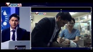 अस्पतालले झन्डै मारेको शिशुलाई रवि लामिछाने भावुक हुदै बोके || Sidha Kura Janta Sanga || Episode 36