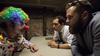 Detectives investigate the recent clown scares