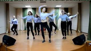 Танец School Dance Project Girls. СШ№14 г. Брест.23 февраля 2018