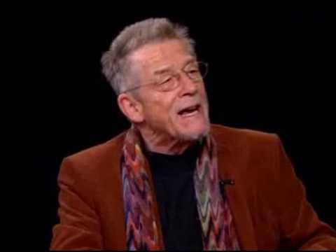 John Hurt reciting Jabberwocky on the Charlie Rose show