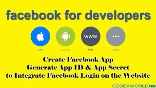 How to Create Facebook App, App ID, and App Secret