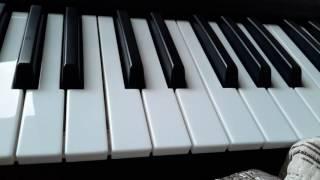 Как играть на пианино песню милион милион алых роз