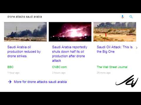 Breaking News - Saudi  Oil Fields Attacked by Houthi Drones  - Will oil go to  $100 a barrel