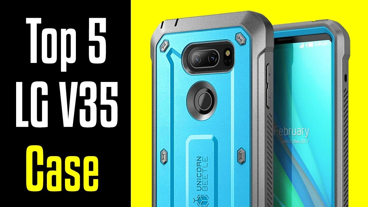 competitive price b9158 50f0f 🔻Top 5 Best LG V35 ThinQ Cases!🔺[4K]