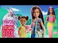 Barbie Unicorn Goddess saves Skipper and Baby from a Tiger! | Barbie Story Box | Barbie