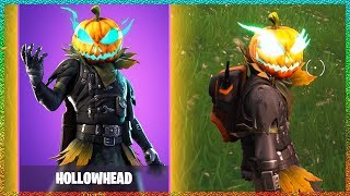 Fortnite Hollowhead Skin Review Gameplay!