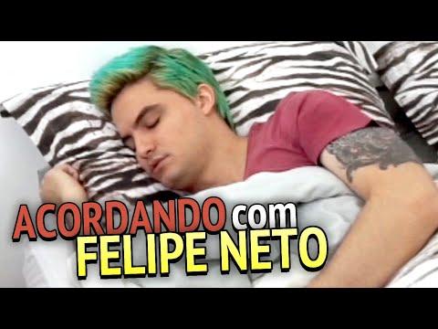 ACORDANDO COM FELIPE NETO +13