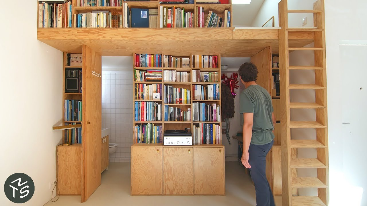 Download NEVER TOO SMALL Paris Architect's Micro Apartment - 31sqm/344sqft