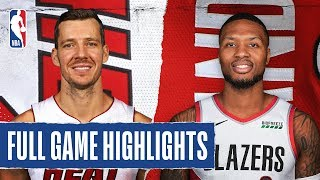 HEAT at TRAIL BLAZERS | FULL GAME HIGHLIGHTS | February 9, 2020