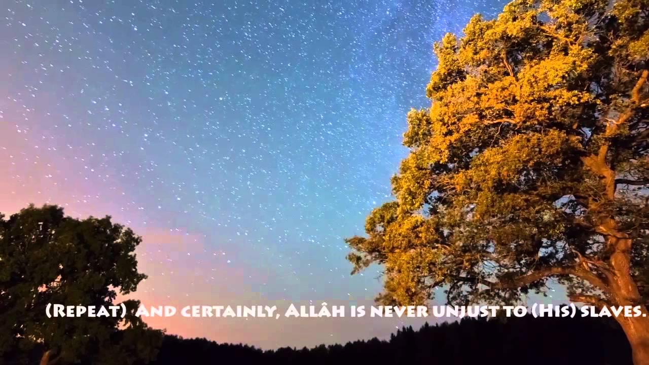 2013 | Shaykh Idris Abkar | Surah Al Imran(180-186) | Smooth Recitation