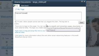 Term Use in Social Tagging in the SharePoint 2010 Term Store Manager
