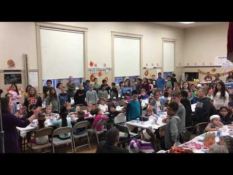Hedge Elementary School Thanksgiving Feast