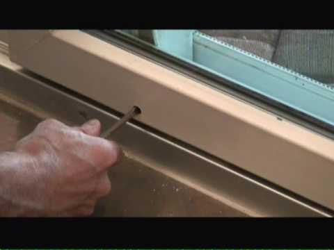Adjusting Sliding Glass Doors - YouTube