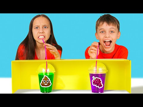 CRAZY MYSTERY DRINK CHALLENGE || Choose The Right Beverage by 123 GO! Play