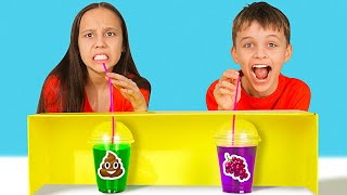 CRAZY MYSTERY DRINK CHALLENGE    Choose The Right Beverage