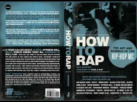 21f410d1fc691 How To Rap book - YouTube
