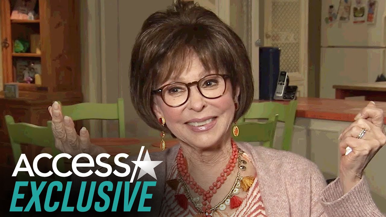 Rita Moreno Thinks It's A 'Miracle' To Be Acting At 88 Years Old