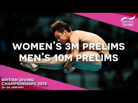 British Diving Championships 2018 - Session Seven