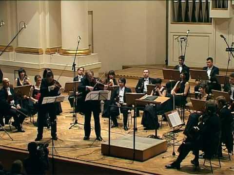 G.F Haendel – Passacaglia / Robert Kabara, Grigori Zhislin, Sinfonietta Cracovia