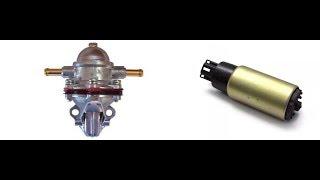 установка ЭБН низкого давления вместо механического бензонасоса на примере АЗЛК21412