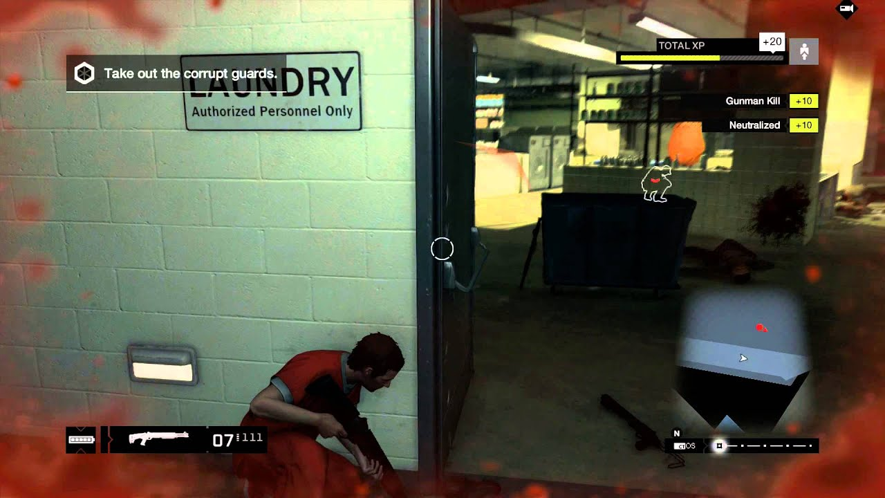 Watch Dogs Take Out Corrupt Guards