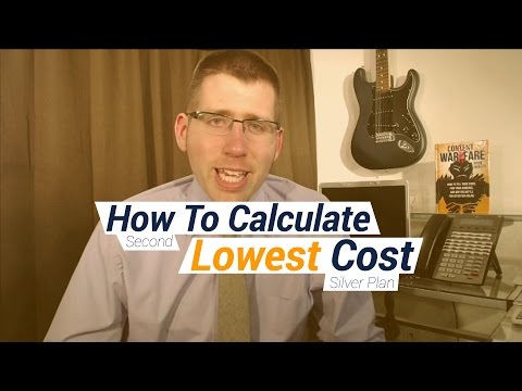 How To Calculate Second Lowest Cost Silver Plan Filling Ohio 1095 Form