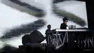 Ryoji Ikeda Supercodex live Roma 2015