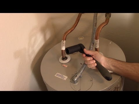 Hot Water Tank Anode Replacement How To Complete A.O.Smith ECT 55 200 Water Heater