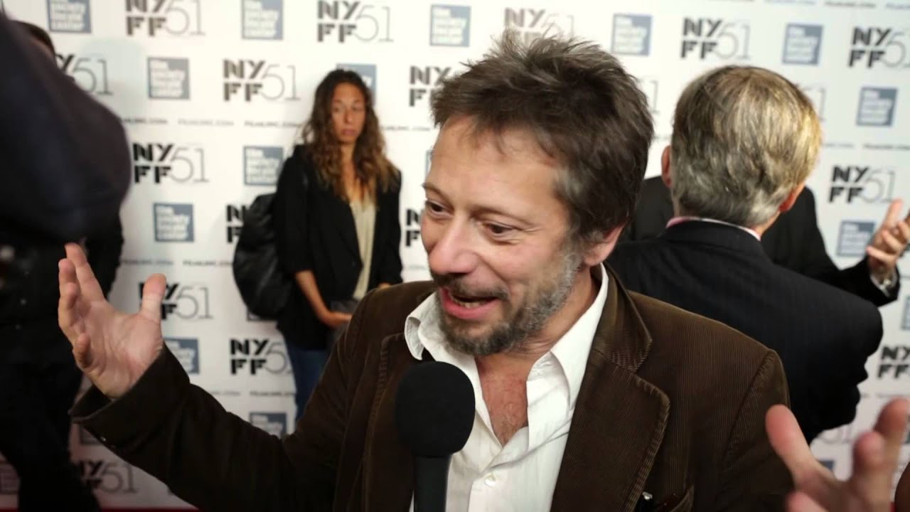 "NYFF51:  Mathieu Amalric | ""Jimmy P."" Red Carpet"