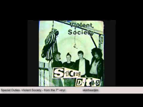 Special Duties - Violent Society