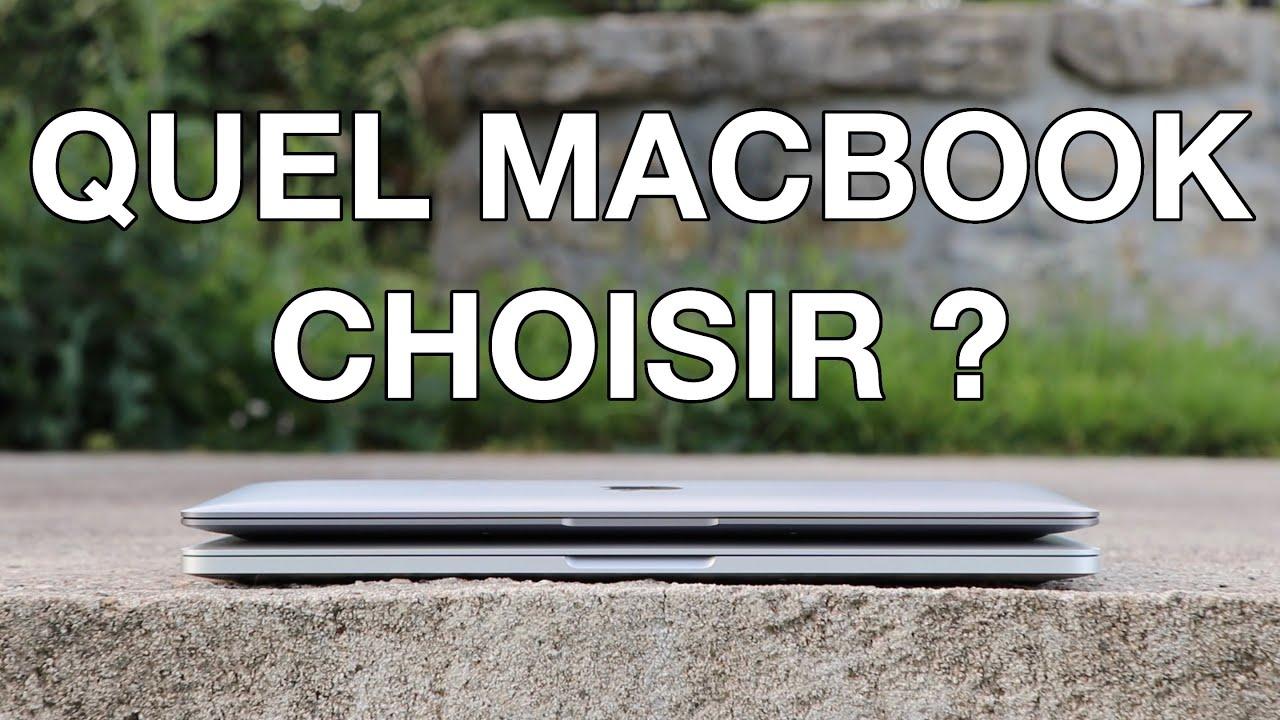 Quel MacBook choisir ? (rentrée 2020) - YouTube
