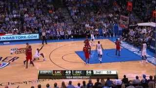 Repeat youtube video Ibaka & Lowry halftime buzzer-beaters!