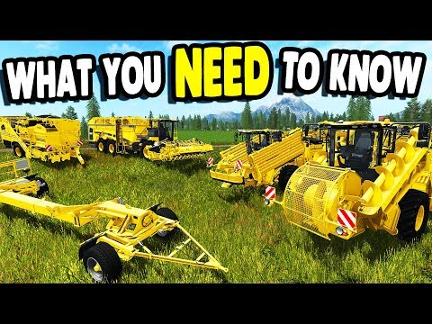 FARMING SIMULATOR 17 | Major DLC Showcase & What You NEED To Know ROPA Gameplay