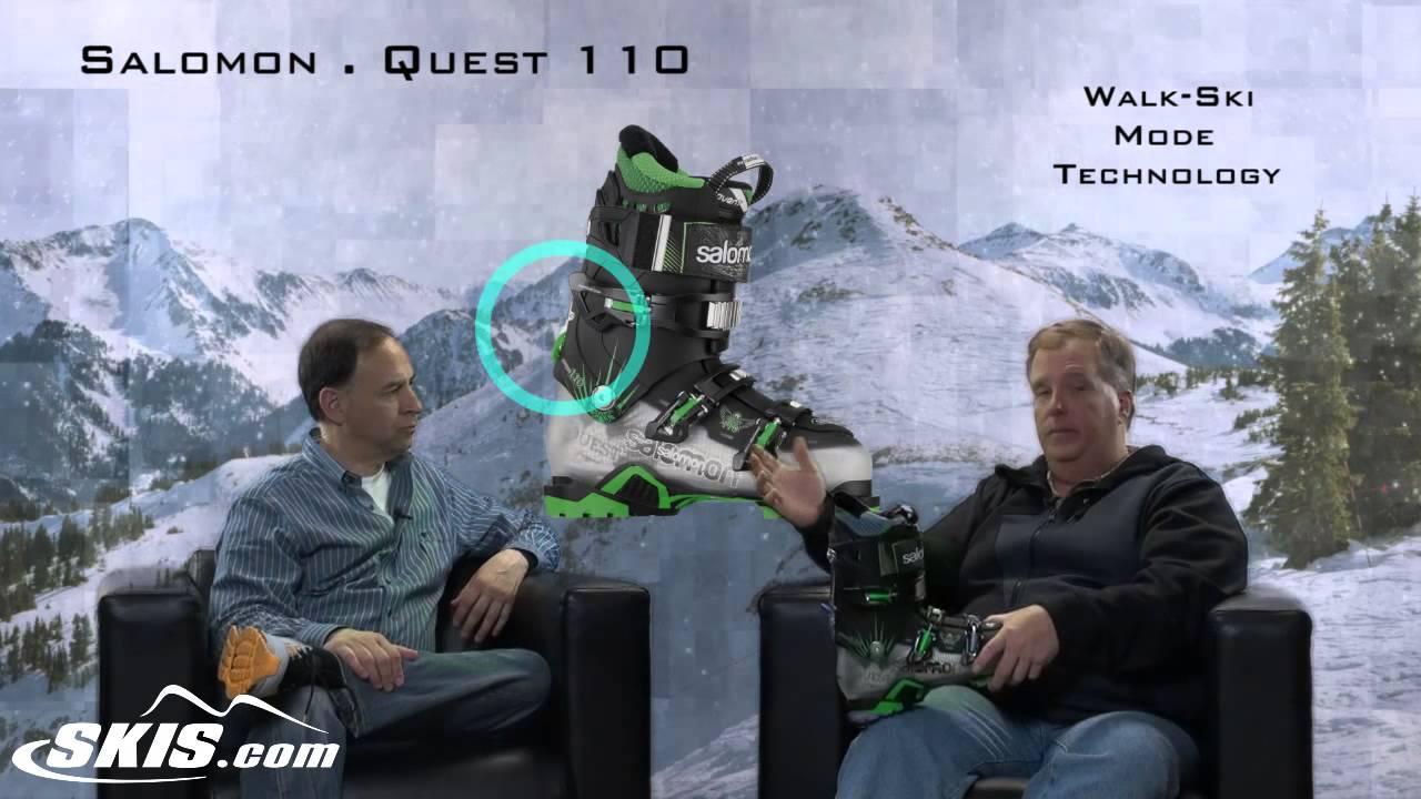 2014 Salomon Quest 110 Mens Boot Overview by SkisDOTcom