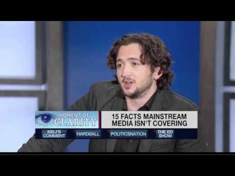 """""""Comedian Lee Camp on MSNBCs DylanRatigan"""" -- PART ONE"""