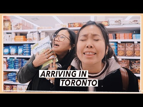 Arriving in Toronto from NYC | Sleepy Canada Travel Vlog