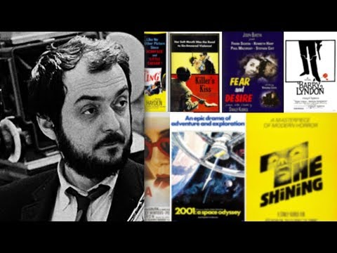 All Stanley Kubrick movies (1953-1999)