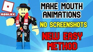Comment faire Roblox face animations sans stopmotion! (NOUVELLE MÉTHODE FACILE)