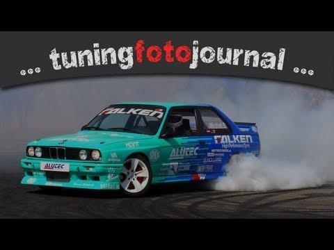 falken drift show tuning world bodensee 2013 (HD)
