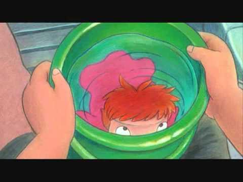 Ponyo theme song  English subtitles