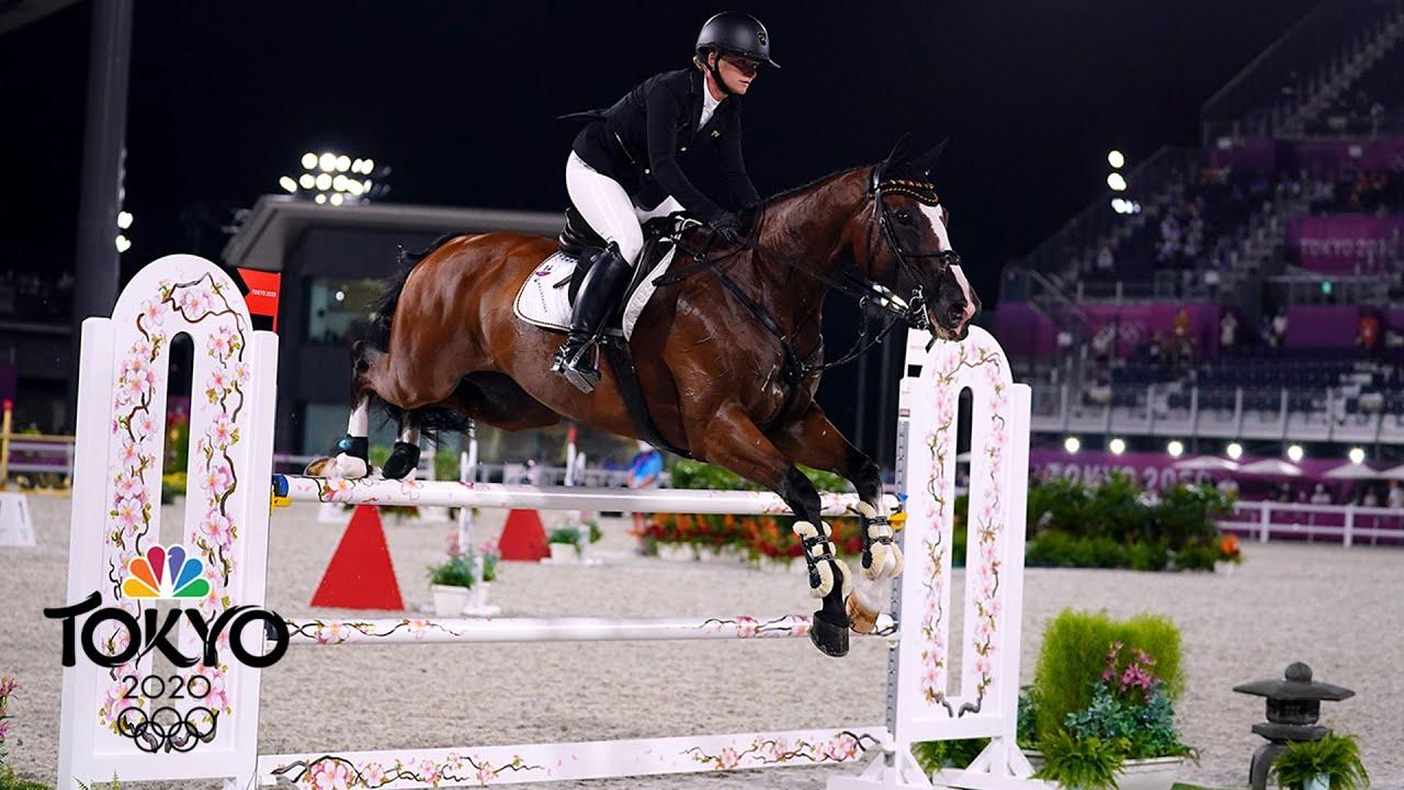 Olympics Latest: Krajewski wins individual eventing gold