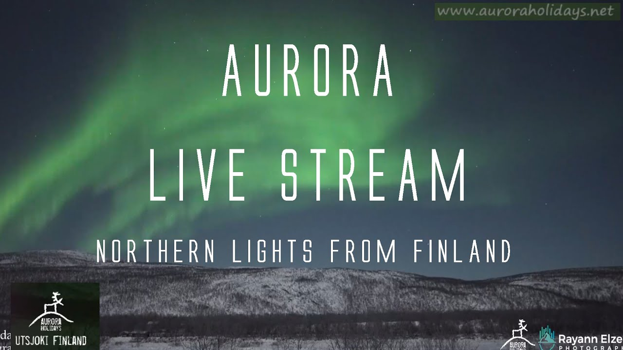 AURORA LiveStream From Finland! Northern Lights Live (3rd March 2021)