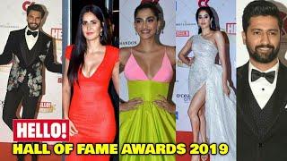 HELLO Hall Of Fame Awards 2019 | Katrina Kaif, Ranveer Singh, Sonam Kapoor, Janhvi Kapoor & Many