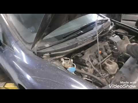 Honda Civic - удаление неисправного катализатора
