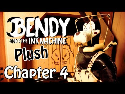 Bendy and The Ink Machine Plush: Chapter 4 (Ending)